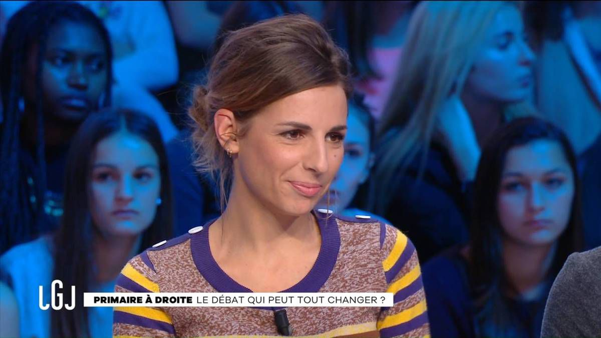 Alice Darfeuille Le Grand Journal Canal+ le17.11.2016