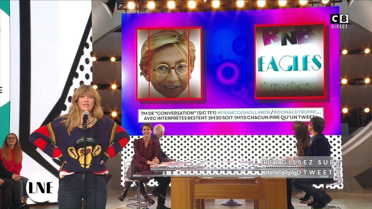 Emilie Besse La Nouvelle Edition C8 le 18.11.2016
