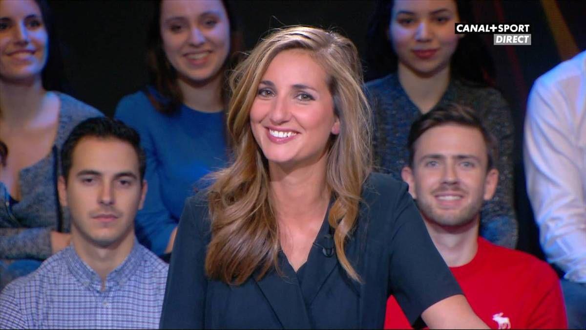 Marie Portolano 19H30 Sport Canal+ Sport le 18.11.2016