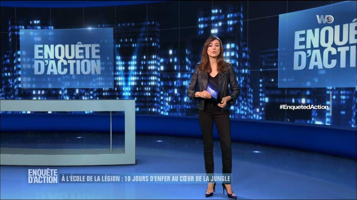 Marie-Ange Casalta Enquêtes d'Action W9 le 18.11.2016