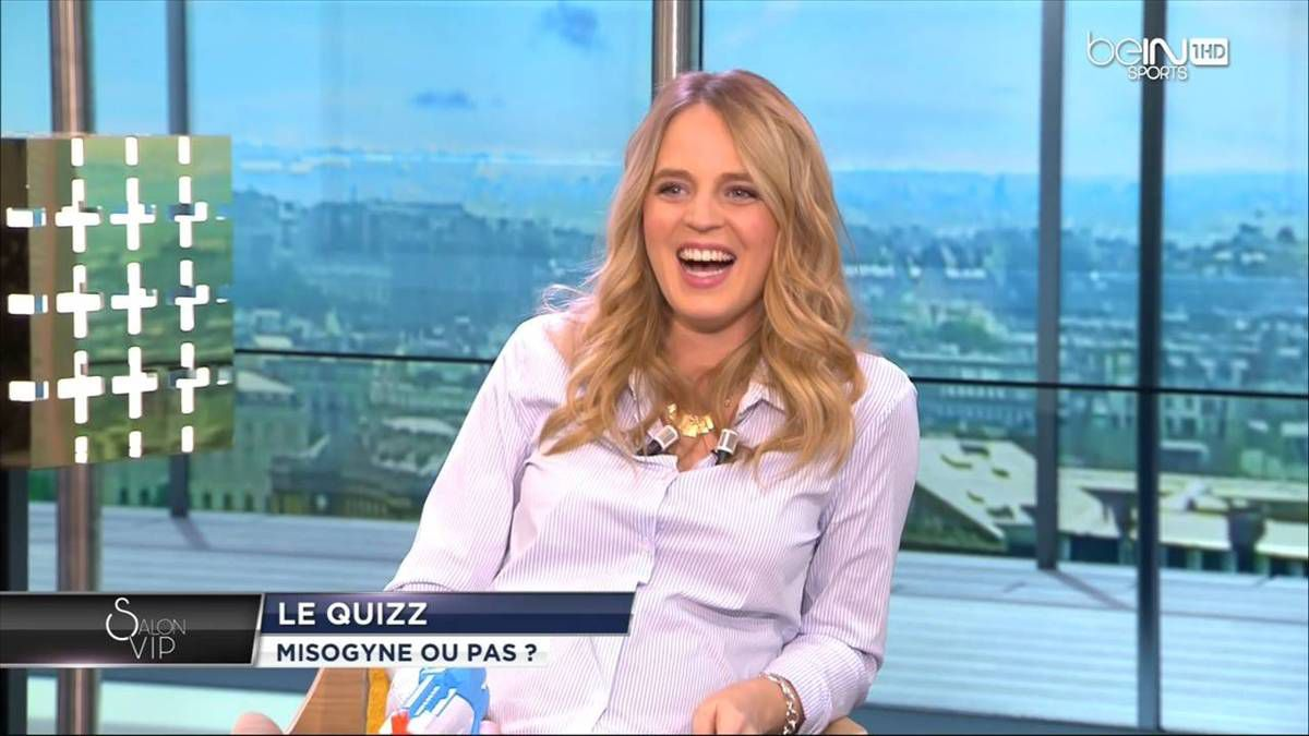 Claire Arnoux Salon VIP beIn Sports le 19.11.2016
