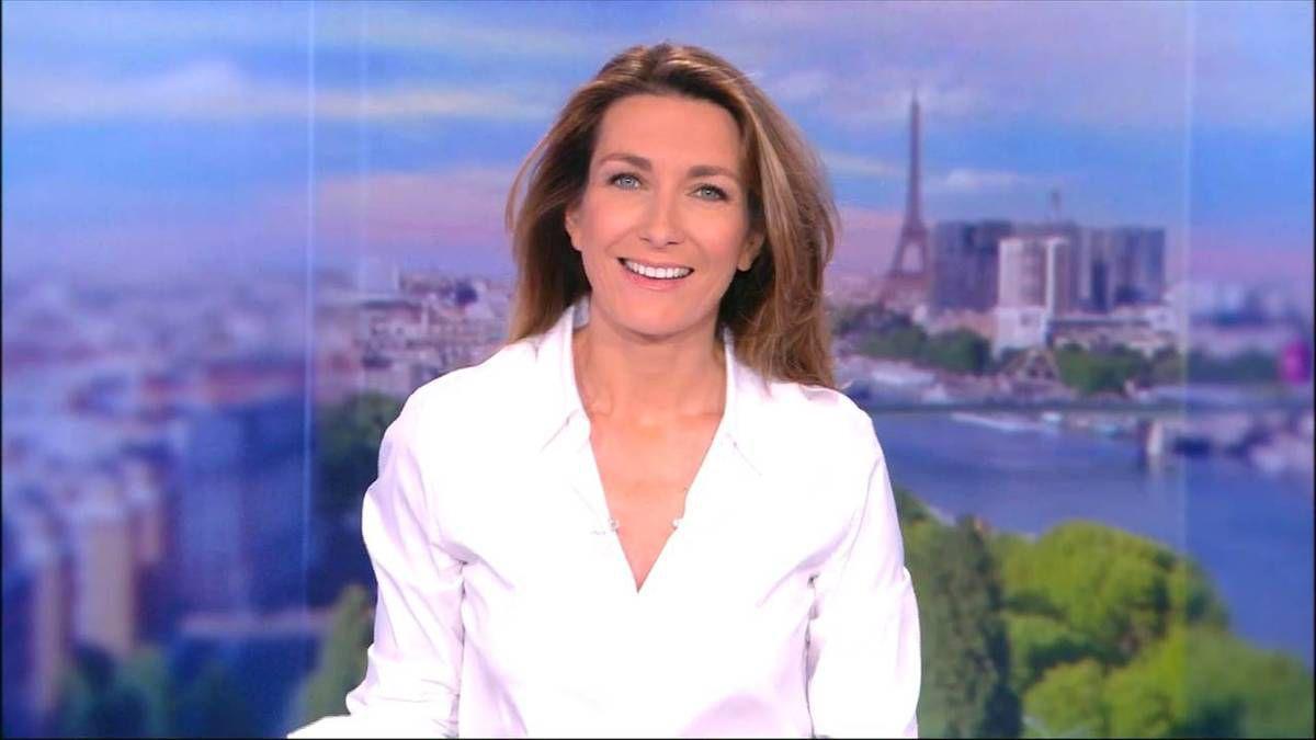 Anne-Claire Coudray JT 13H TF1 le 20.11.2016