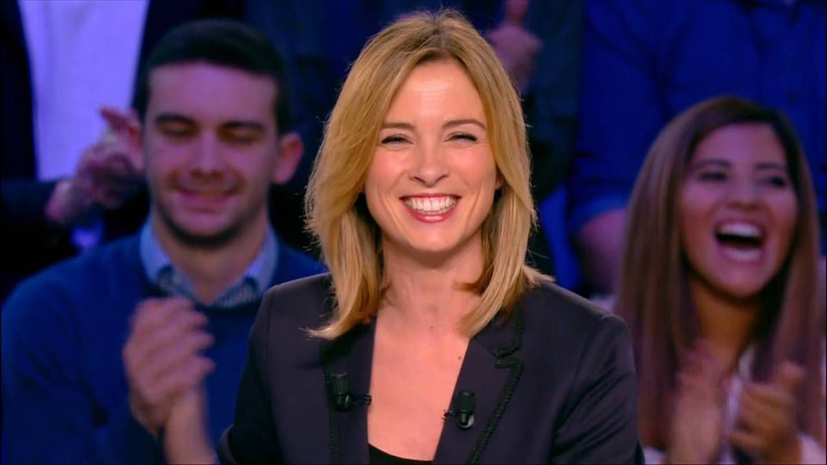 Isabelle Ithurburu Canal Rugby Club Canal+ le 20.11.2016