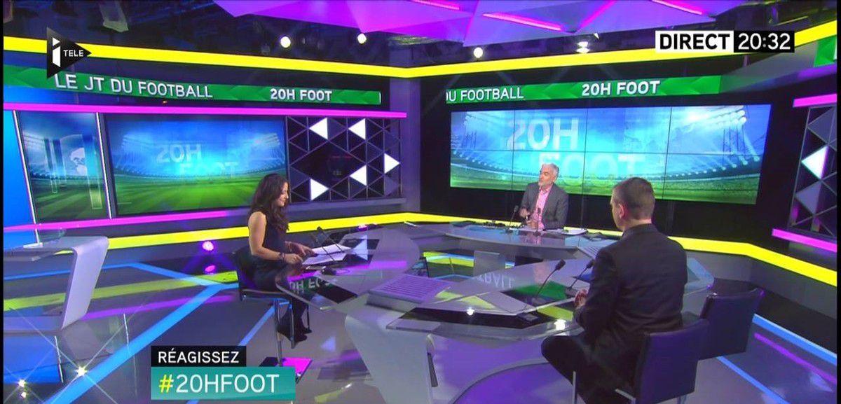 Sonia Carneiro 20H Foot Itélé le 21.11.2016