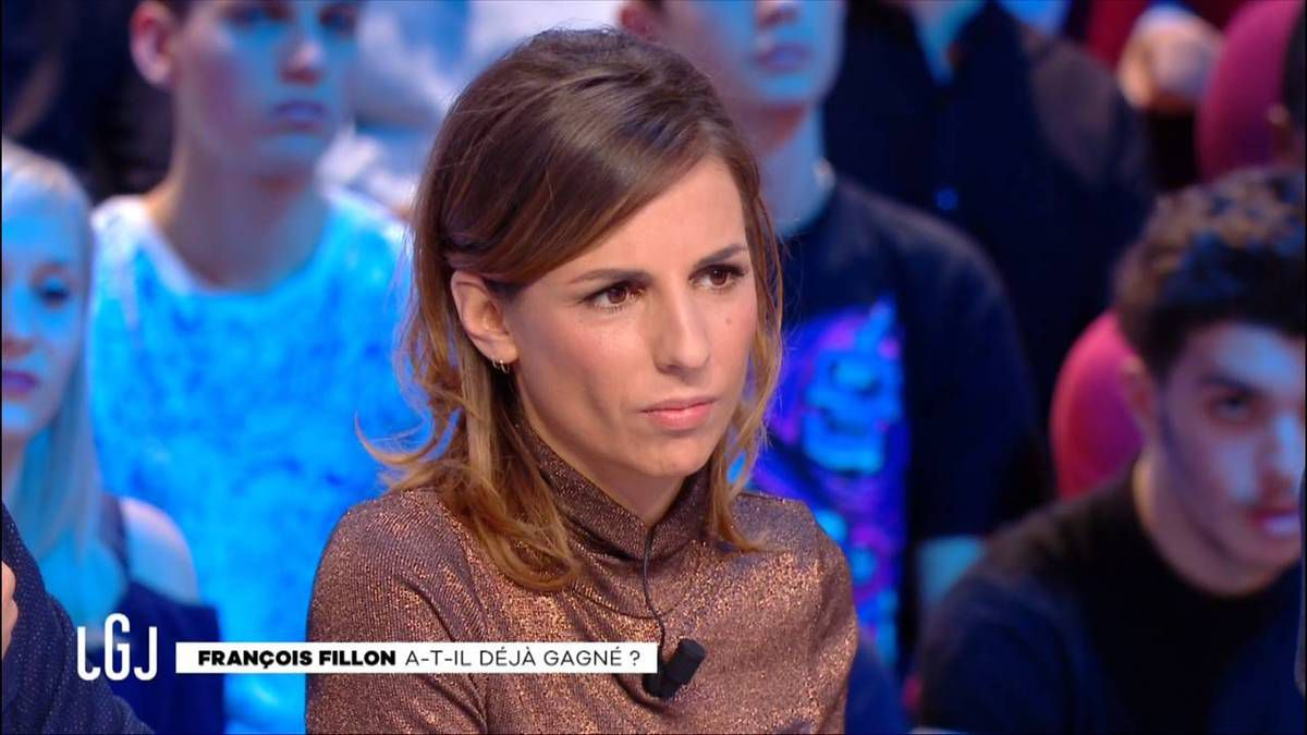 Alice Darfeuille Le Grand Journal Canal+ le 21.11.2016