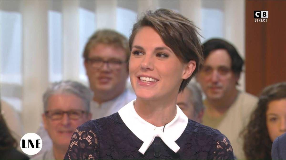 Emilie Besse La Nouvelle Edition C8 le 21.11.2016