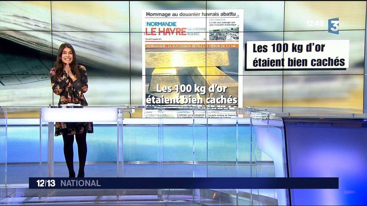 Emilie Tran Nguyen Le 12/13 France 3 le 23.11.2016