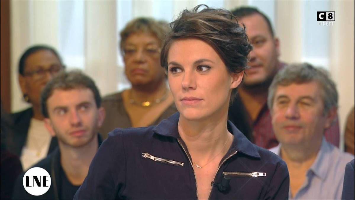 Emilie Besse La Nouvelle Edition C8 le 23.11.2016