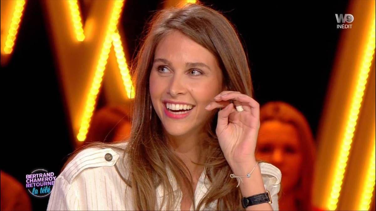 Ophélie Meunier Bertrand Chameroy Retourne la Télé W9 le 23.11.2016