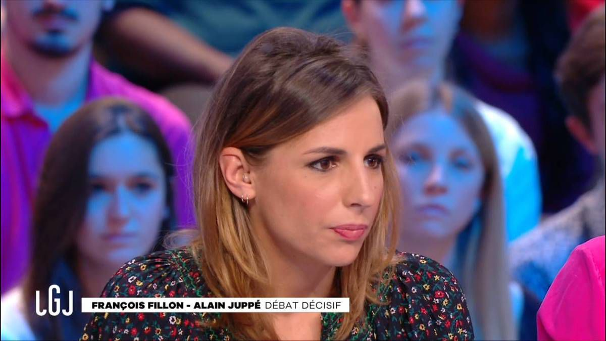 Alice Darfeuille Le Grand Journal Canal+ le 24.11.2016