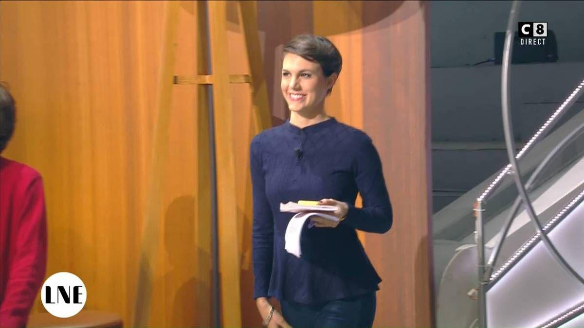 Emilie Besse La Nouvelle Edition C8 le 24.11.2016