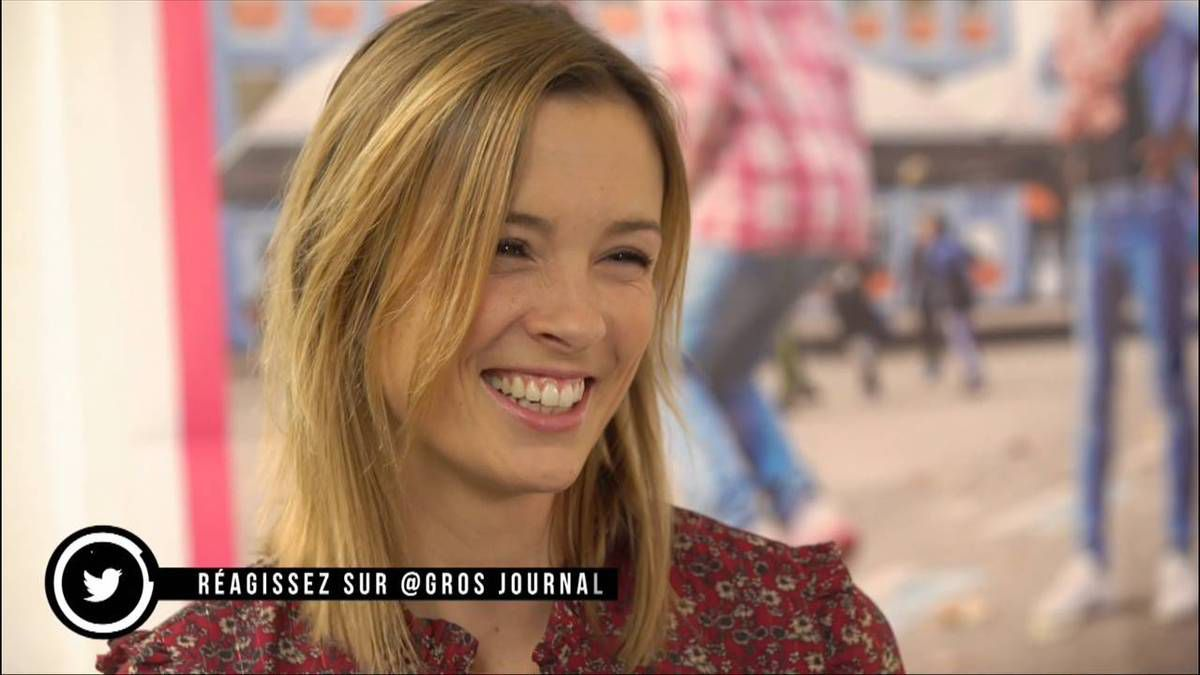 Isabelle Ithurburu Le Gros Journal Canal+ le 24.11.2016