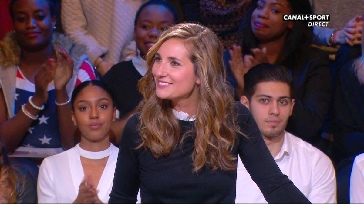 Marie Portolano 19H30 Sport Canal+Sport le 25.11.2016