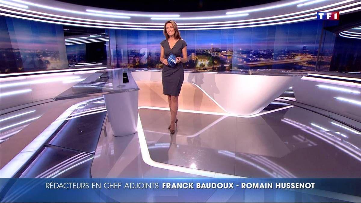 Anne-Claire Coudray JT 20H TF1 le 25.11.2016