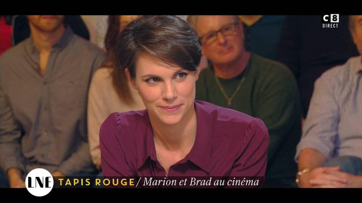 Emilie Besse La Nouvelle Edition C8 le 25.11.2016