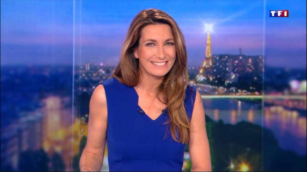 Anne-Claire Coudray JT 20H TF1 le 26.11.2016