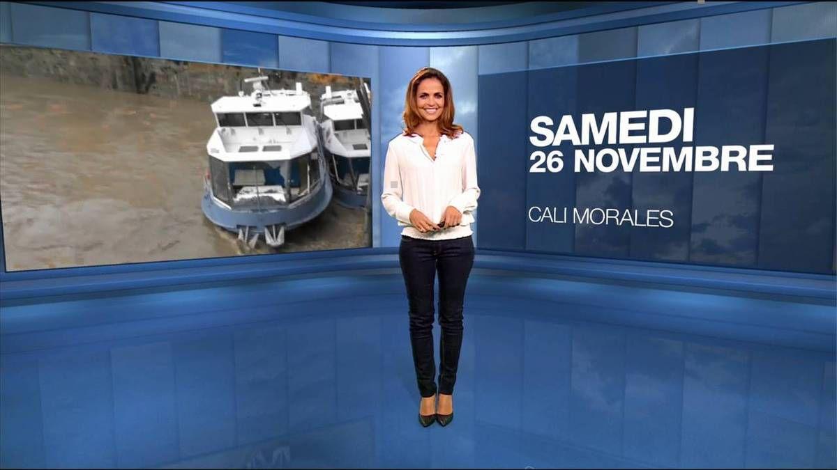 Cali Morales Météo M6 le 26.11.2016