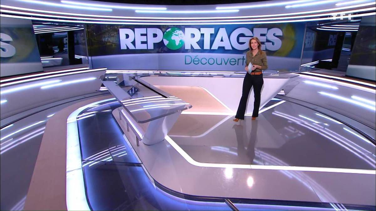 Anne-Claire Coudray JT 13H TF1 le 26.11.2016