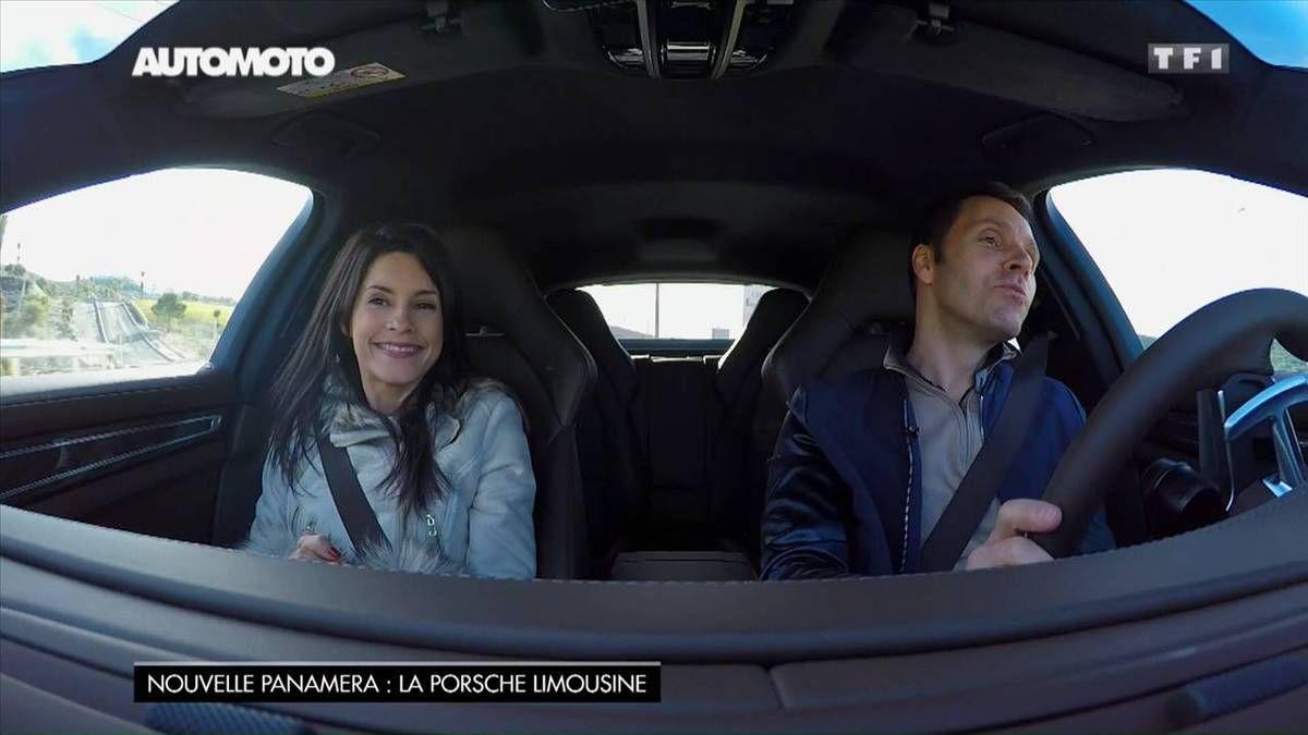 Marion Jollès Grosjean Automoto TF1 le 27.11.2016