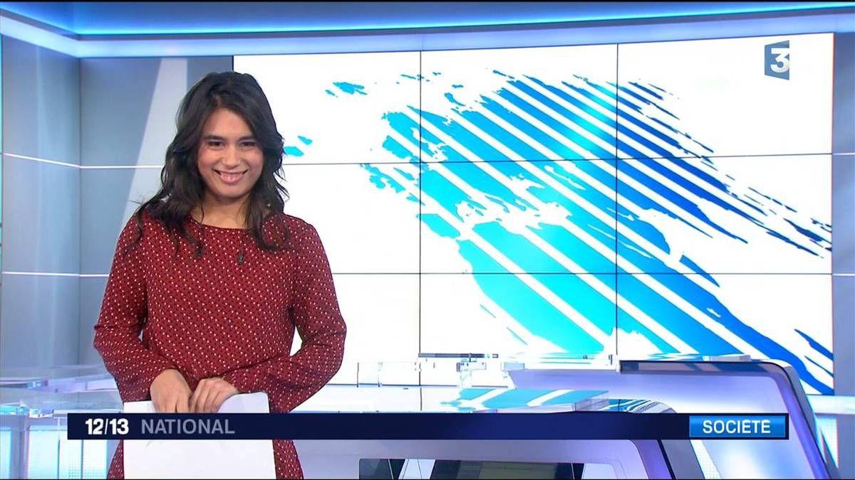 Emilie Tran Nguyen Le 12/13 France 3 le 28.11.2016