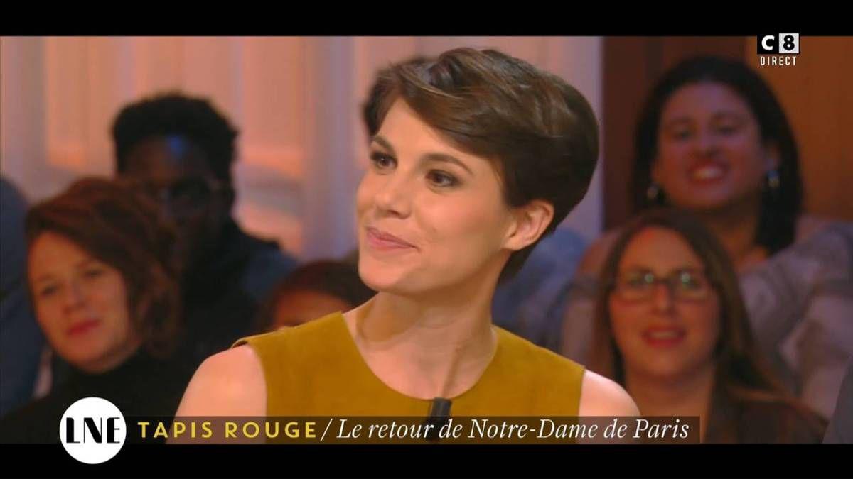 Emilie Besse La Nouvelle Edition C8 le 28.11.2016