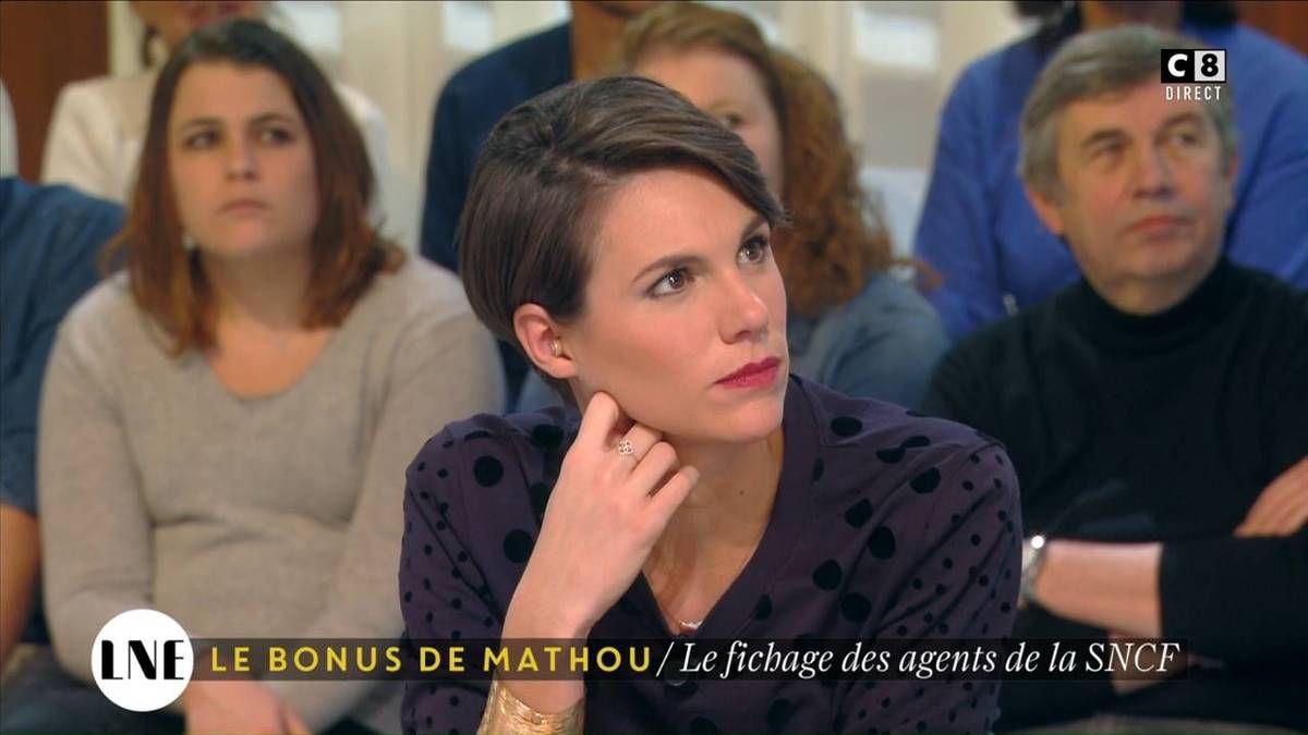 Emilie Besse La Nouvelle Edition C8 le 30.11.2016