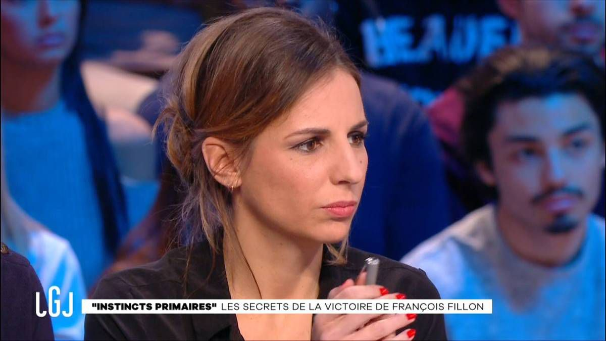 Alice Darfeuille Le Grand Journal Canal+ le 30.11.2016