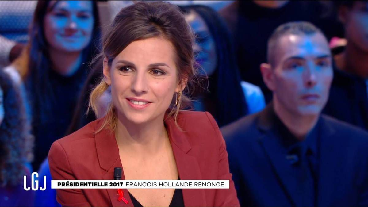 Alice Darfeuille Le Grand Journal Canal+ le 01.12.2016