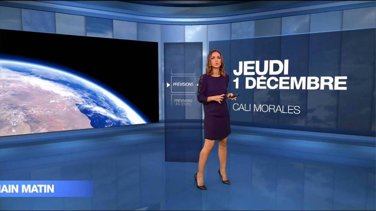 Cali Morales Météo M6 le 01.12.2016