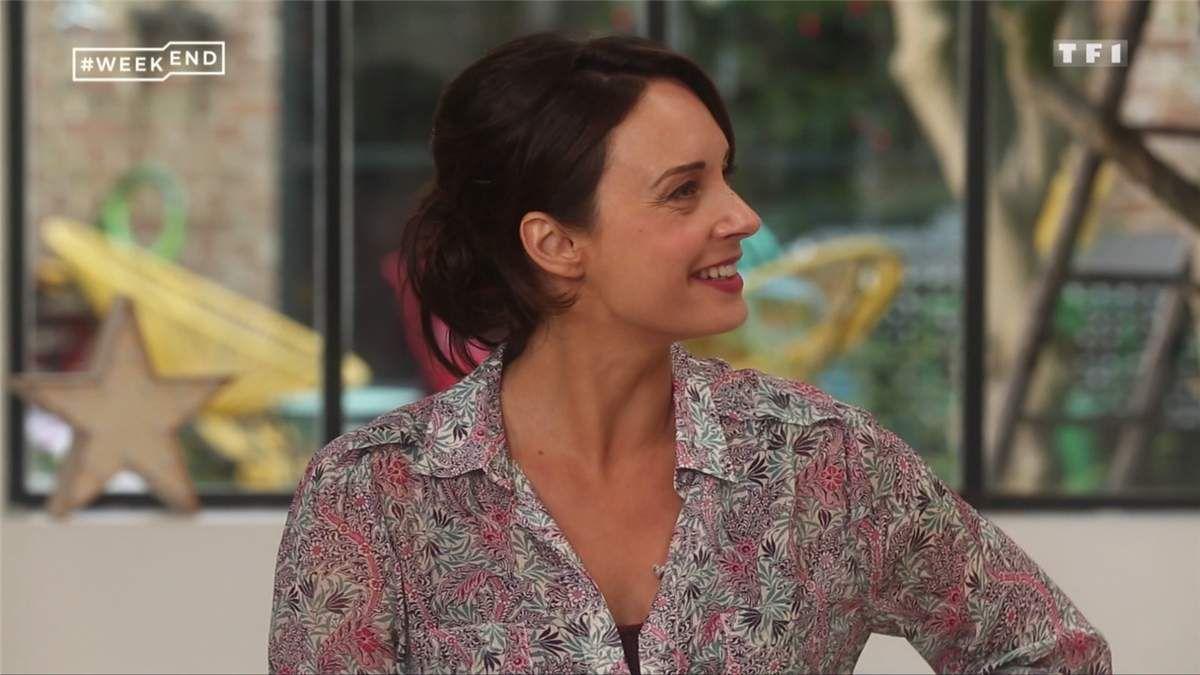 Julia Vignali #weekend TF1 le 04.02.2017