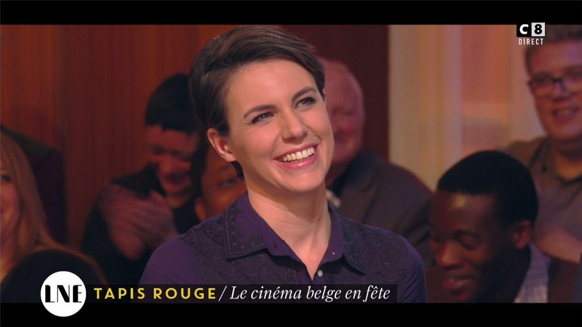 Emilie Besse La Nouvelle Edition C8 le 07.02.2017