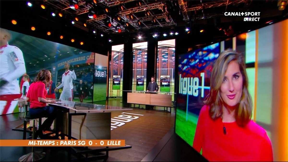 Marie Portolano Canal+Sport le 07.02.2017