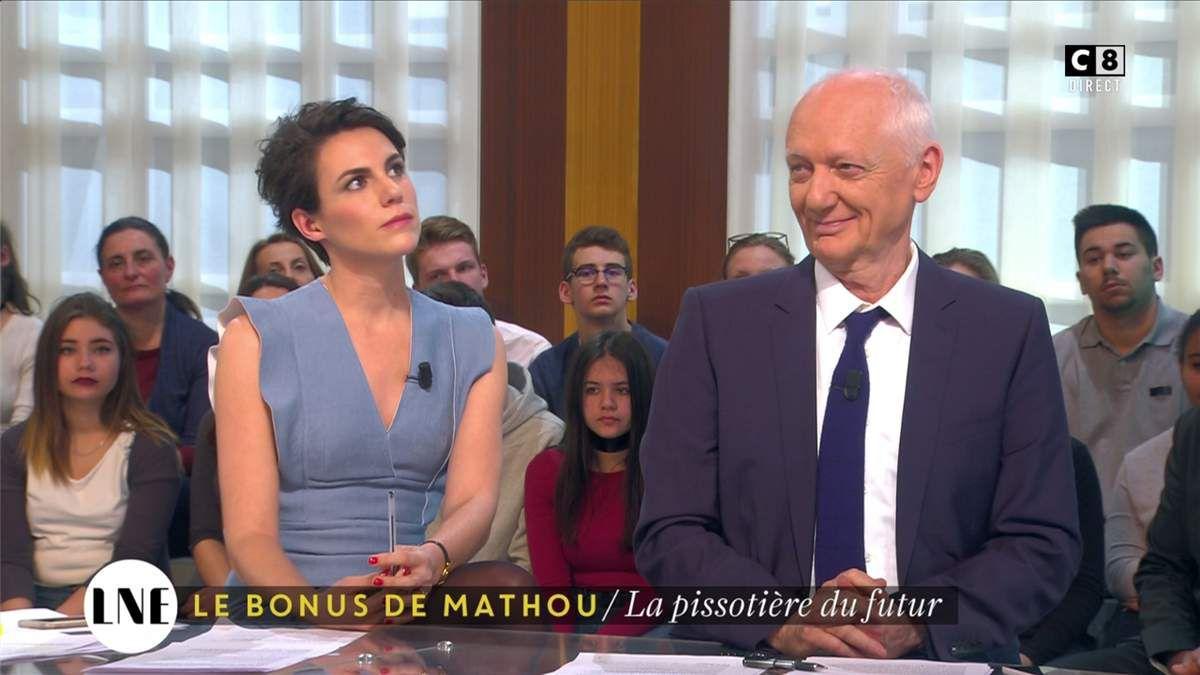 Emilie Besse La Nouvelle Edition C8 le 08.02.2017