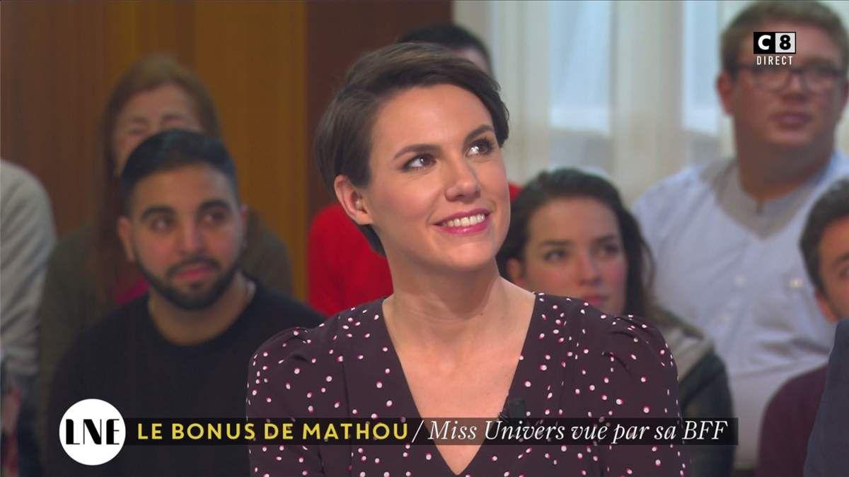 Emilie Besse La Nouvelle Edition C8 le 09.02.2017