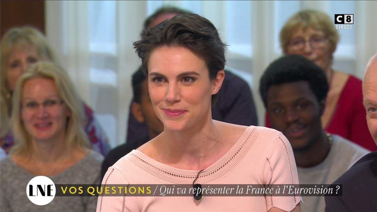 Emilie Besse La Nouvelle Edition C8 le 10.02.2017