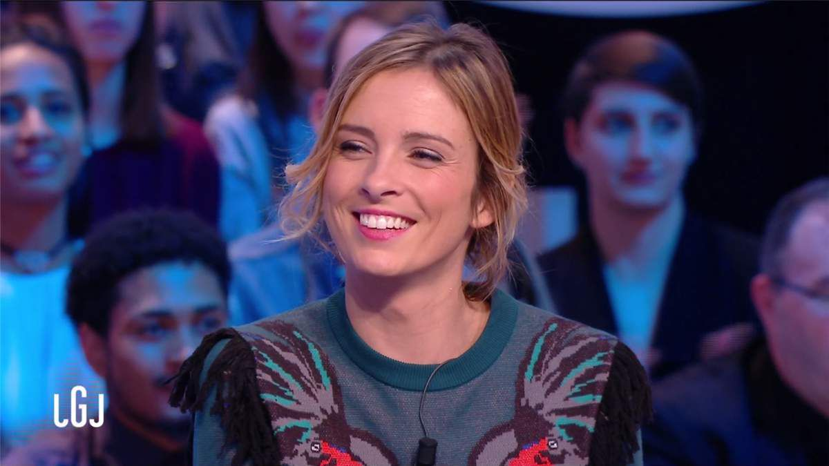 Isabelle Ithurburu Le Grand Journal Canal+ le 10.02.2017