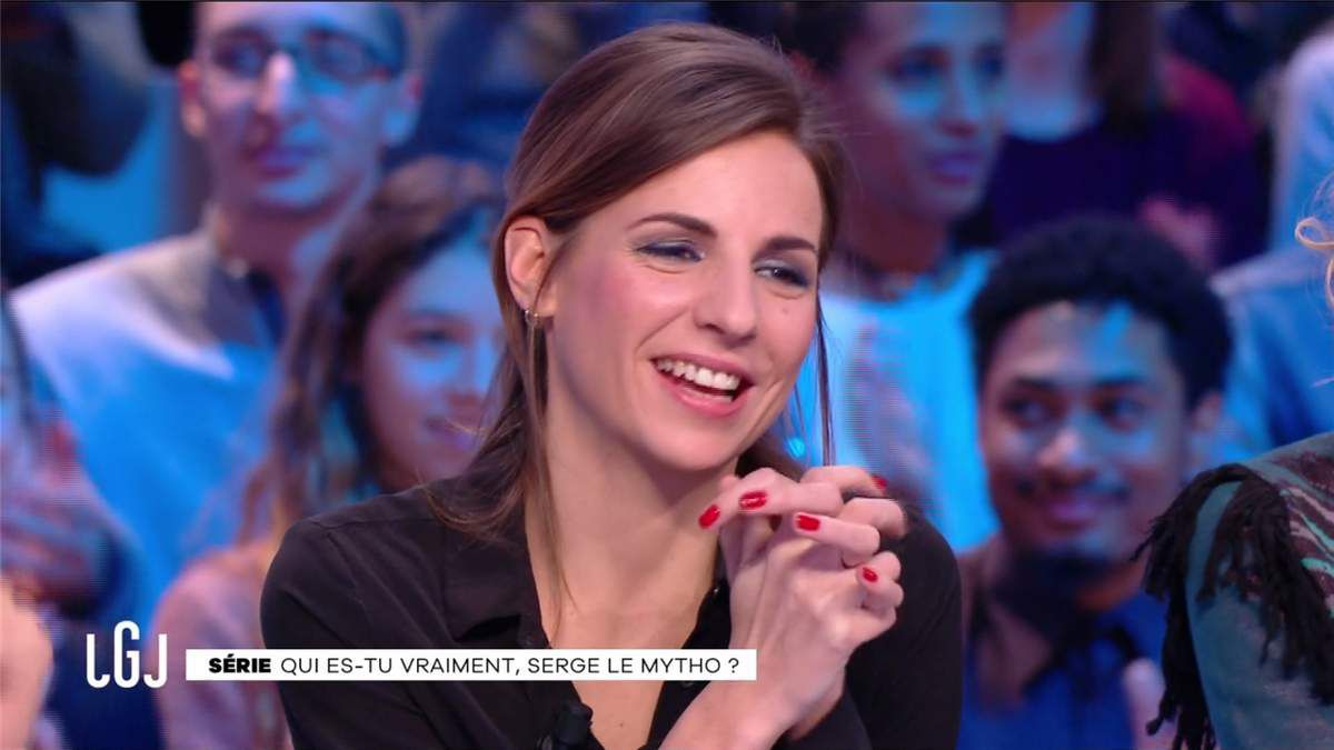 Alice Darfeuille Le Grand Journal Canal+ le 10.02.2017