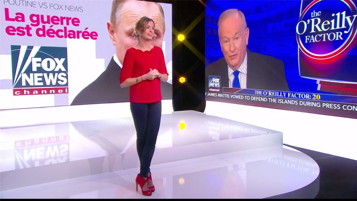 Isabelle Ithurburu Le Tube Canal+ le 11.02.2017