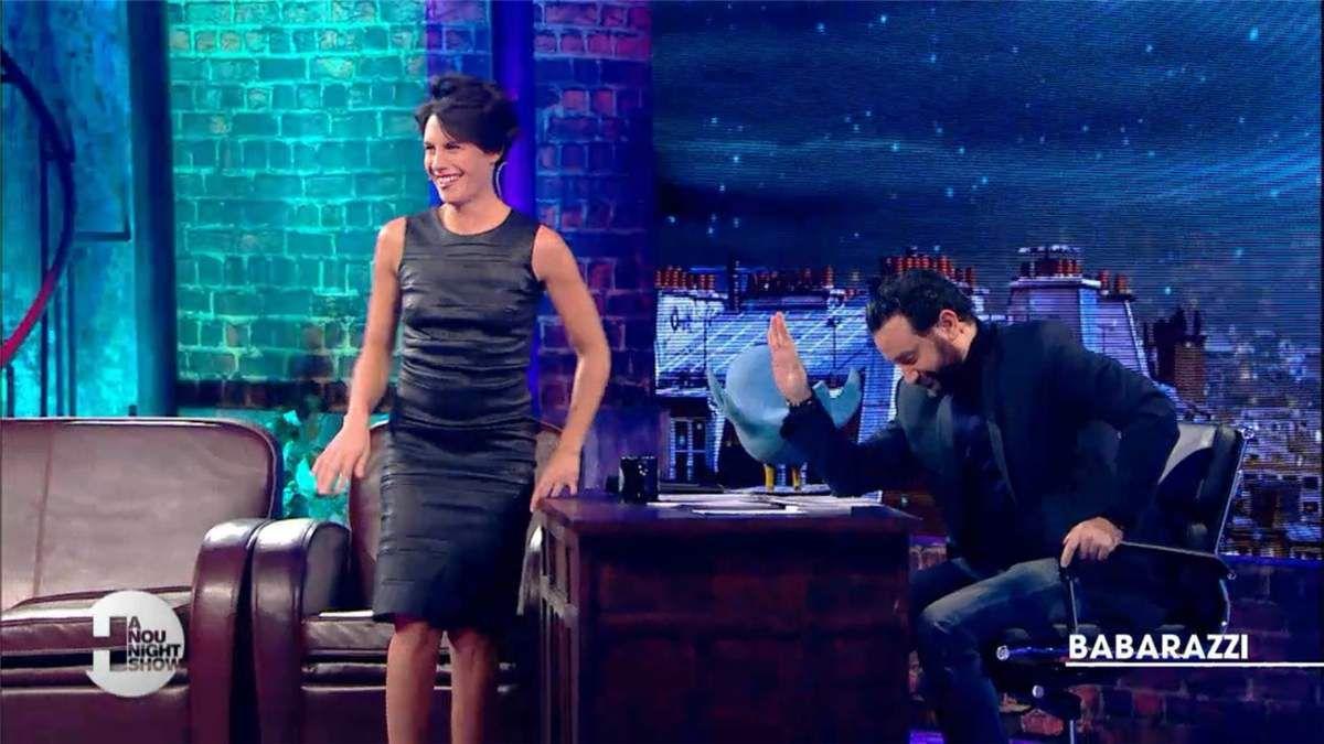 Alessandra Sublet Hanounight Show Canal+ le 08.02.2017