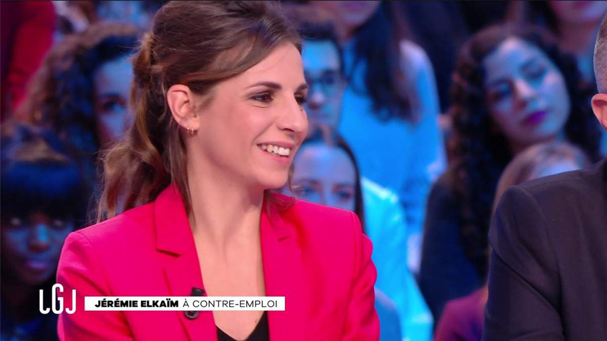Alice Darfeuille Le Grand Journal Canal+ le 14.02.2017