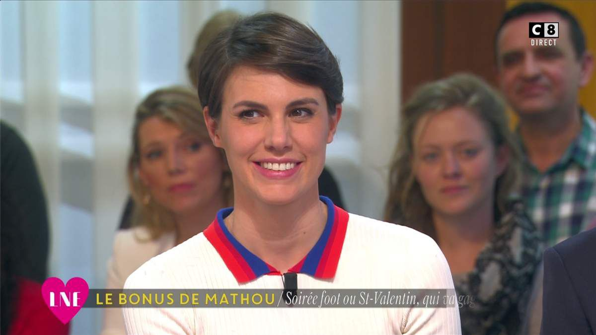 Emilie Besse La Nouvelle Edition C8 le 14.02.2017