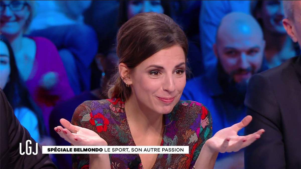 Alice Darfeuille Le Grand Journal Canal+ le 16.02.2017