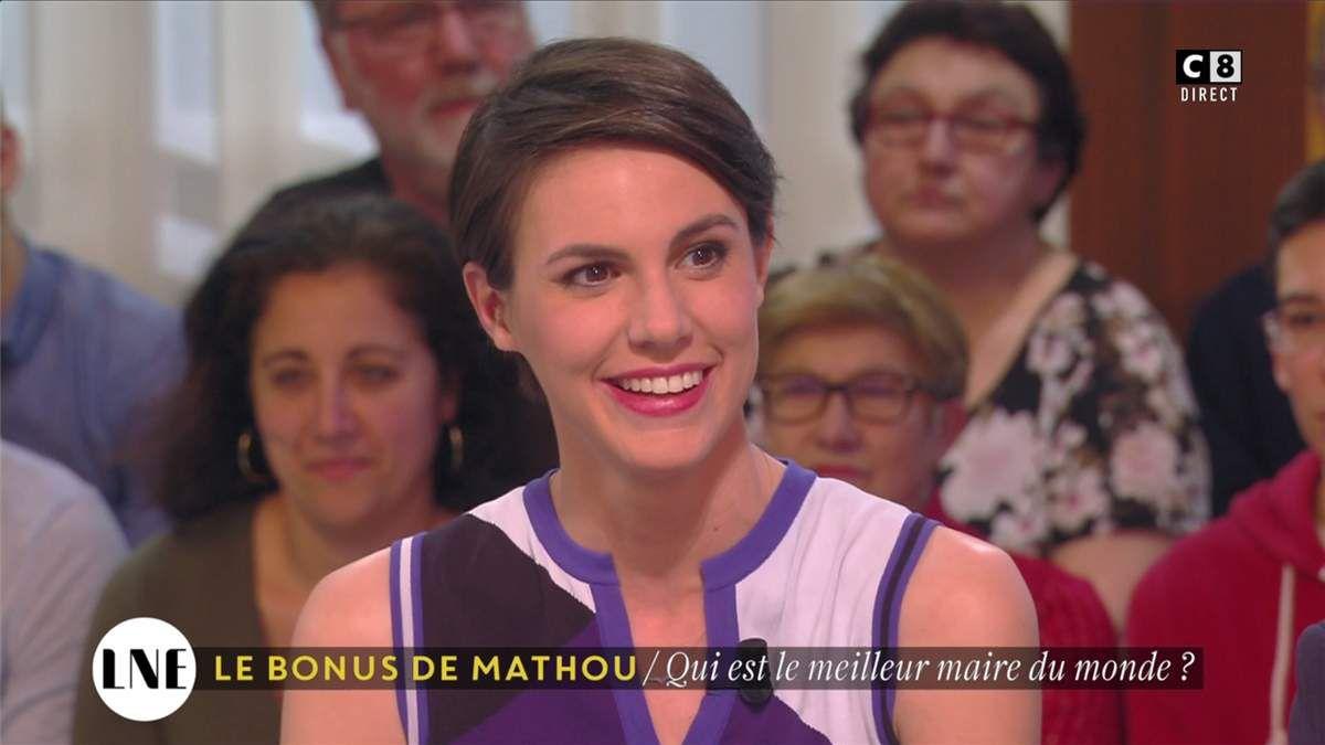 Emilie Besse La Nouvelle Edition C8 le 16.02.2017