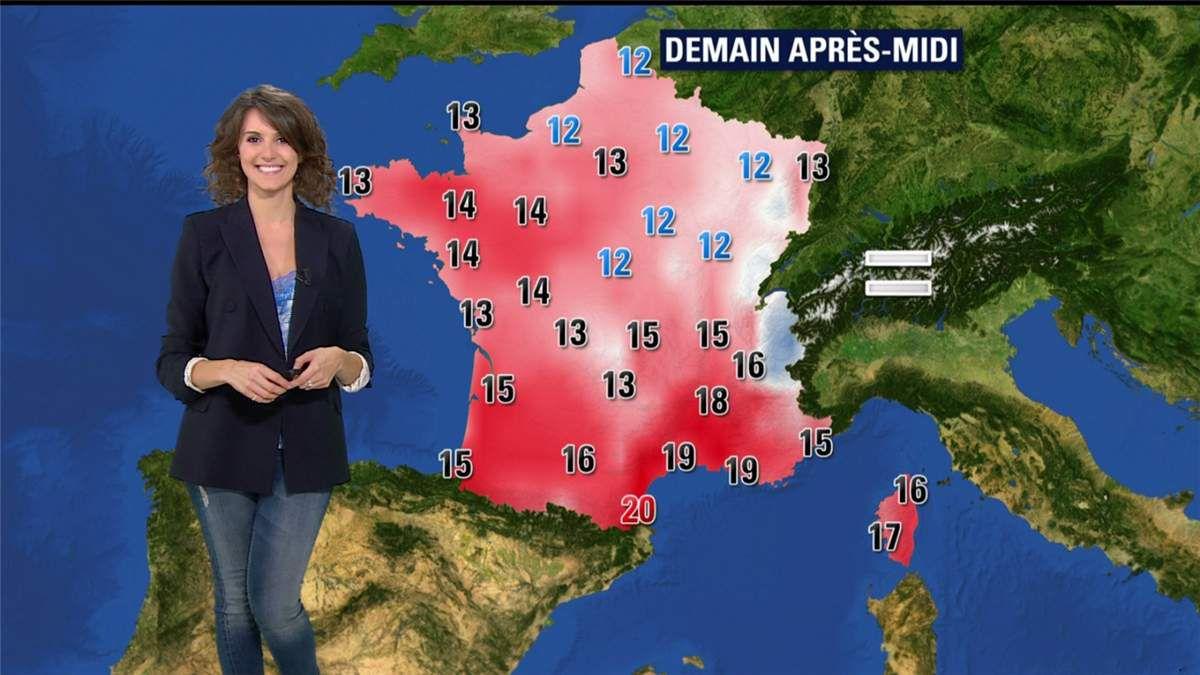 Fanny Agostini Météo BFM TV le 21.02.2017