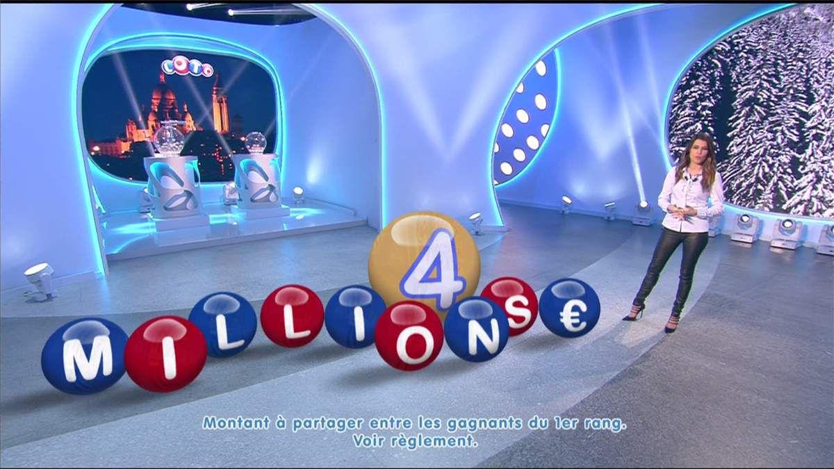 Karine Ferri Tirage Loto TF1 le 22.02.2017