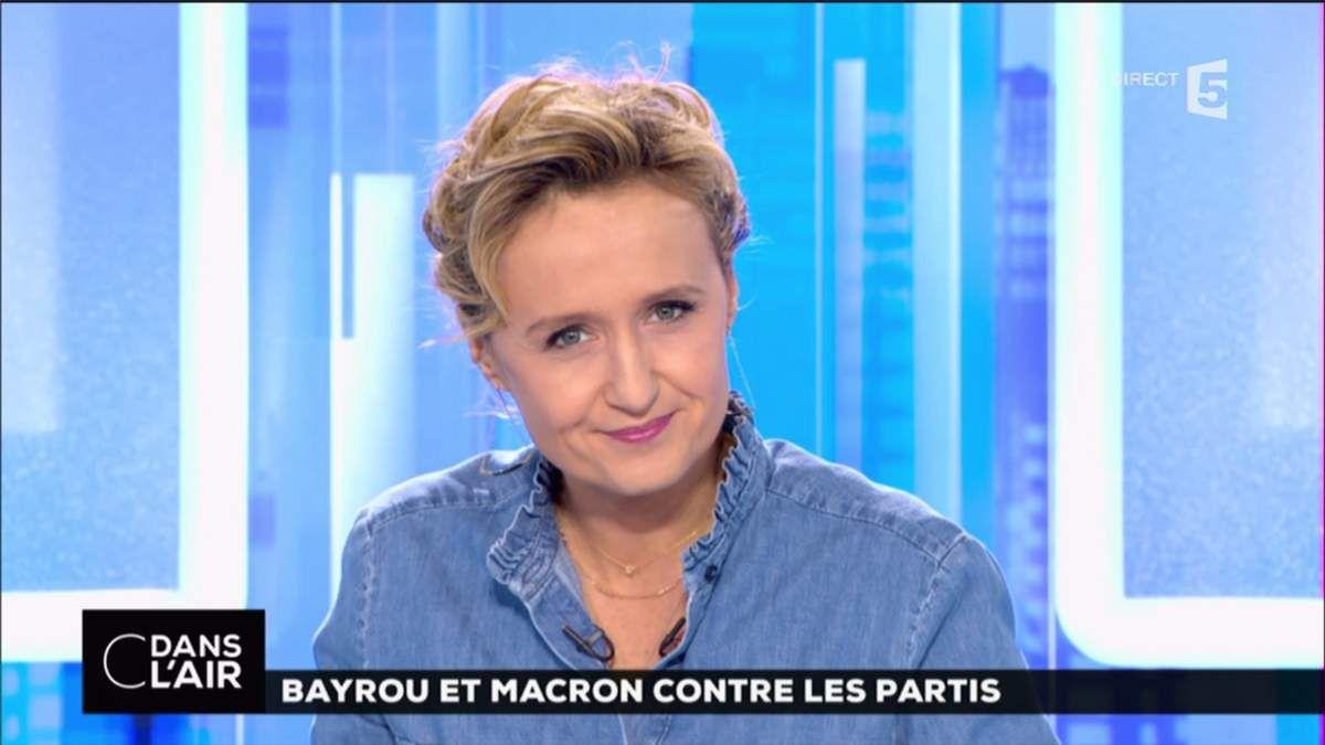 Caroline Roux C Dans l'Air France 5 le 23.02.2017