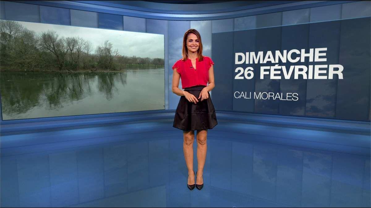 Cali Morales Météo M6 le 26.02.2017