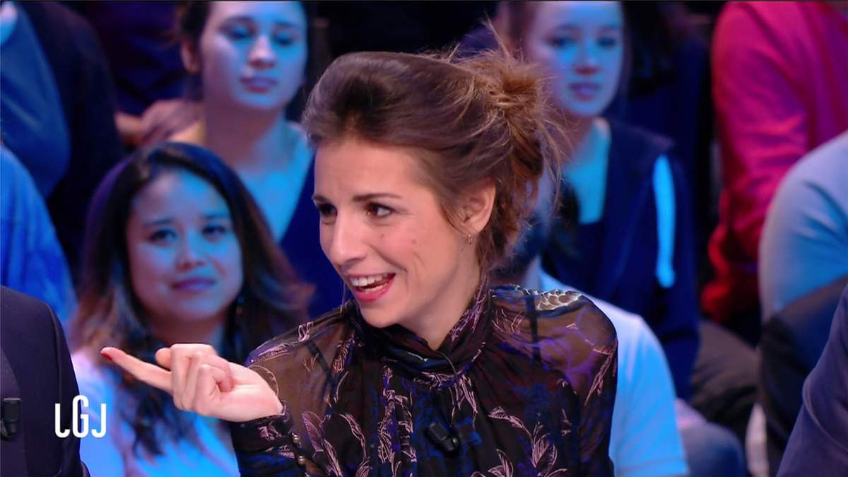 Alice Darfeuille Le Grand Journal Canal+ le 27.02.2017