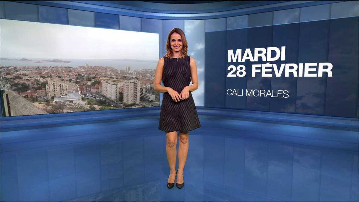 Cali Morales Météo M6 le 28.02.2017