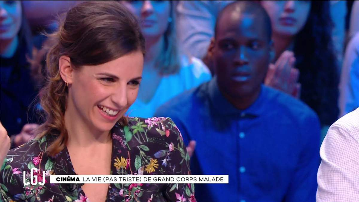 Alice Darfeuille Le Grand Journal Canal+ le 28.02.2017